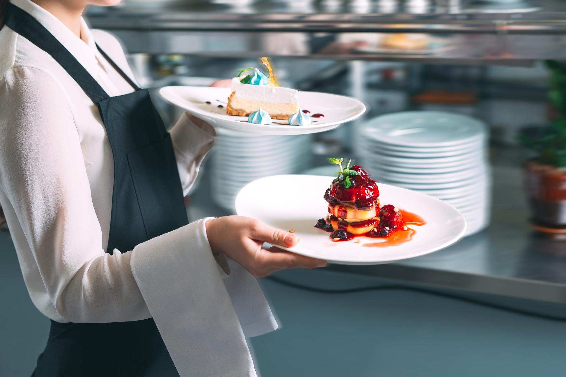 Empregados de cozinha full-time ou part-time