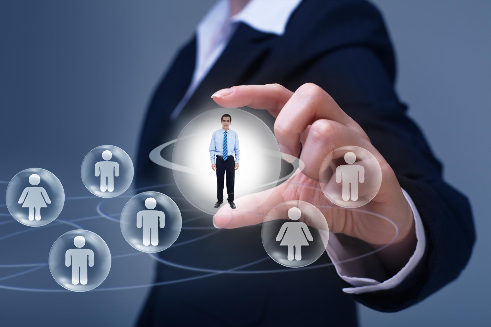 Empresas de seleção e de recrutamento